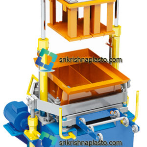 4 Block Machine - hollow block making machine- Interlocking paver block making machine