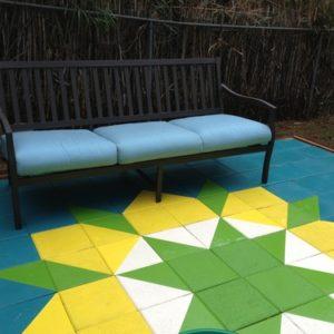 Concrete Floor Tile Paint